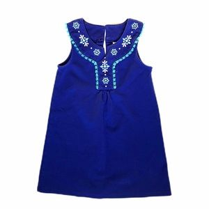 Gymboree bluish purple shift dress